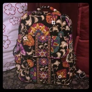 Small Vera  Bradley  Backpack